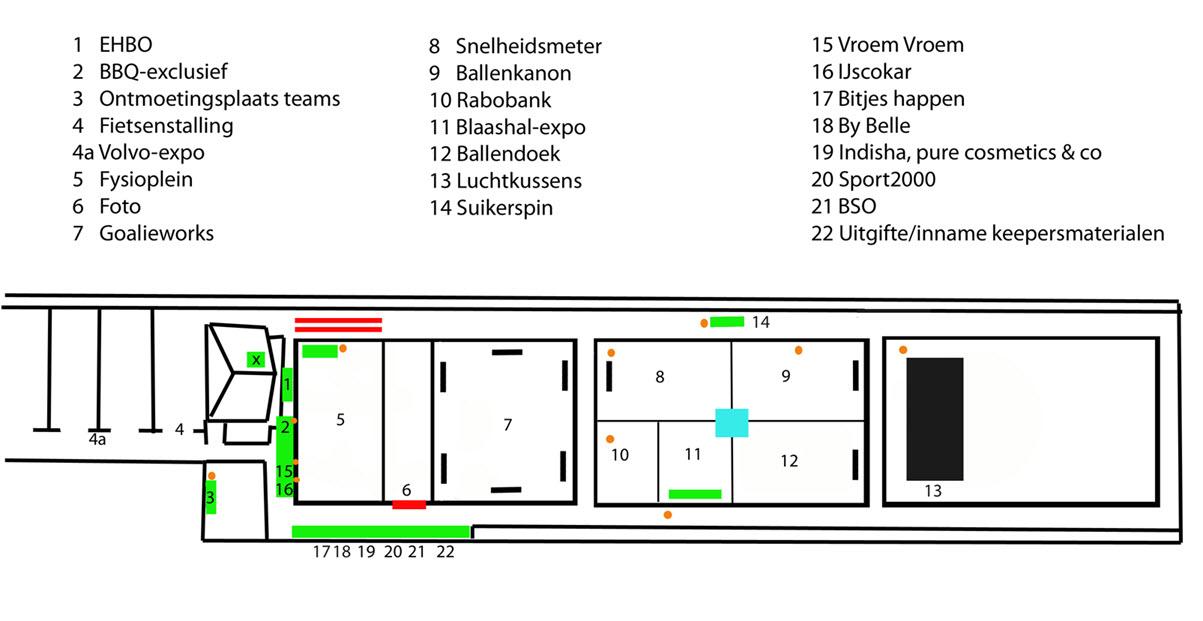 9e54c6276eb Op deze plattegrond kun je zien wat er zondag allemaal gebeurt bij HCY. In  de bijlage vind je de grotere versie.